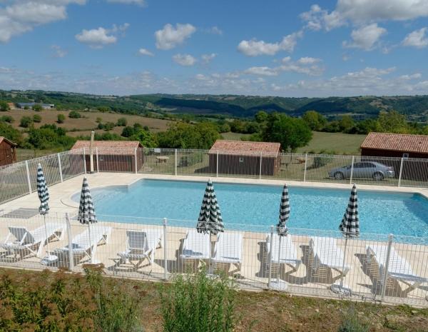 La piscine des chalets